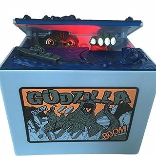 Godzilla Monster Dinosaur Moving Musical Electronic Chirldren Coin Bank Piggy Bank Money Saving Box by AlienTech