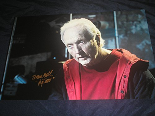 TOBIN BELL Signed Saw 11x17 Photo Poster Autograph Jigsaw B