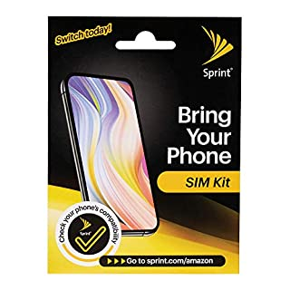 Sprint Sim Kit - Your Phone. Our Unlimited Talk/Text/Data Plans.
