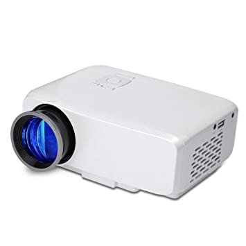 Asg Proyector de Mano, Proyector de LED Mini Proyector portátil ...