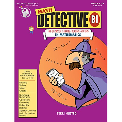 Math Detective® B1 - Fun Is Maths