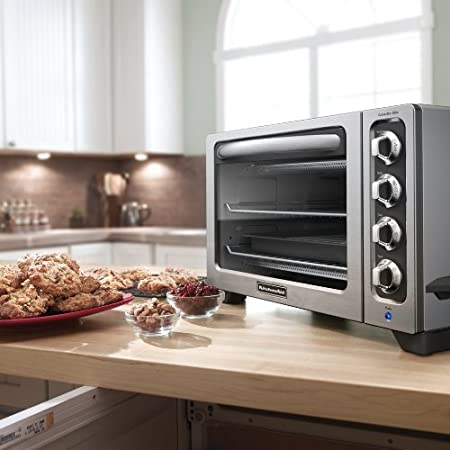Delightful Amazon.com: KitchenAid KCO223CU 12 Inch Convection Countertop Oven With  Silver Handle, Contour Silver: Toaster Ovens: Kitchen U0026 Dining