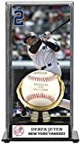 Derek Jeter Gold Glove Baseball Display Case | Details: New York Yankees