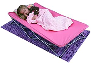 Regalo My Cot Portable Toddler Bed, Pink
