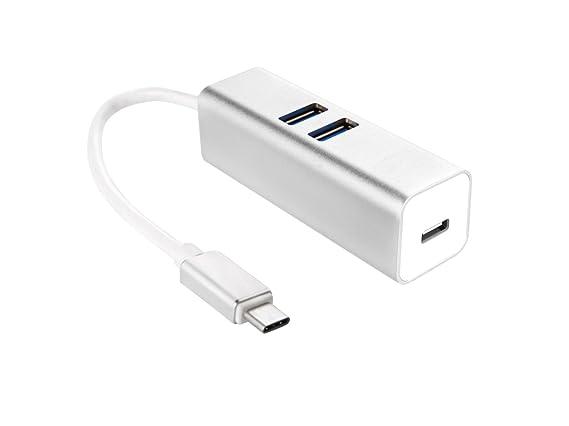 Amazon.com: morjava ihub-12 tipo C Hub USB tipo C Adaptador ...