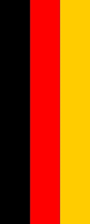 magFlags Bandera Alemania | Bandera Vertical | 3.5m² | 300x120cm: Amazon.es: Jardín