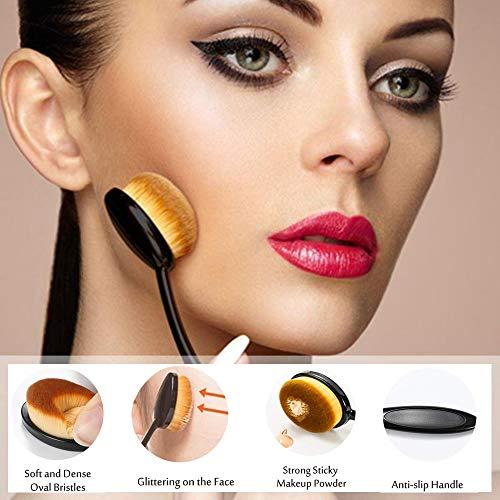 materasu non-latex makeup super soft 2pcs black sponge set blender BB cream,liquid with toothbrush foundation under 5 dollars …