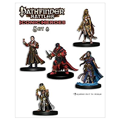 WizKids Pathfinder Battles Minis: Iconic Heroes Box Set 8: Toys & Games