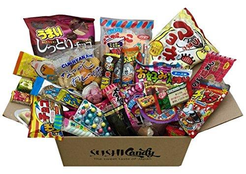 Japanische Süßigkeit Geschenke 30pcs DAGASHI set süss Sortiment japanische Lebensmittel