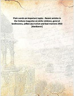 yellow journalism topics
