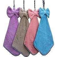 OAN 300 GSM Hanging Hand Towel for Kitchen Wash Basin (Assorted, Standard)
