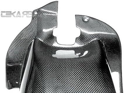 Carbon Fiber Rear Hugger Chain Guard Tekarbon 1x1 Plain Weave Buell Ulysses XB12X // 12XT // 12TT // 12SS