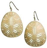 Sand Dollar Earring (Gold)