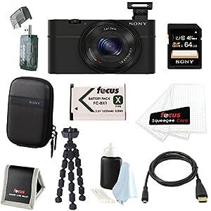 Sony Cyber-shot DSC-RX100 Digital Camera (Black) Bundles from Sony