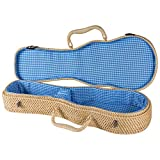 Superior CR-1650NA Deluxe Soprano Ukulele Case - Natural