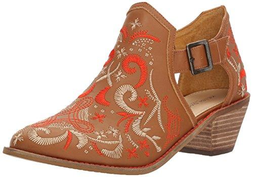 - KELSI DAGGER BROOKLYN Women's Kline Ankle Boot, Cinnamon, 11 M US