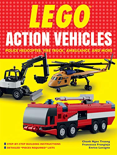Action Helicopter - LEGO® Action Vehicles: Police Helicopter, Fire Truck, Ambulance, and More
