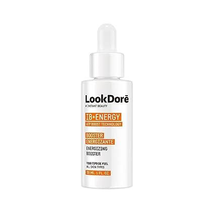 Lookdore - IB+ Energy Booster Vitamina C Facial - Reafirmante Energizante y Revitalizante para la Fatiga