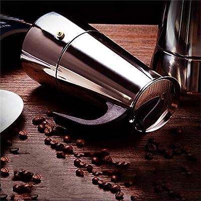HEYU-Moka Cafetera Italiana Mocha, cafetera de Espresso Manual ...