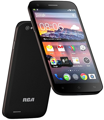 RCA G1 5.5'' Hd, Unlocked Dual Sim, 8Mp Camera, 8Gb Rom, 1Gb Ram, android 4.4 – Black by RCA (Image #4)