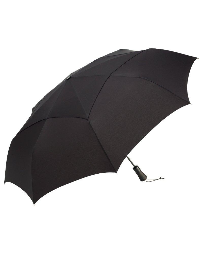ShedRain WindPro Jumbo Umbrella Auto Open & Close (One Size, Ebony Black)