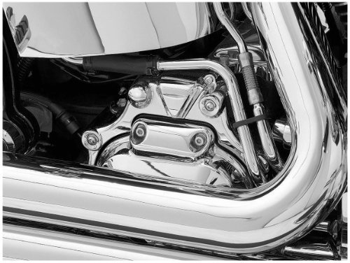 Kuryakyn 07-14 Harley FLSTC Transmission Shroud (Standard) (Chrome)