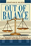 Out of Balance, Jonathan Wilson, 0595347177