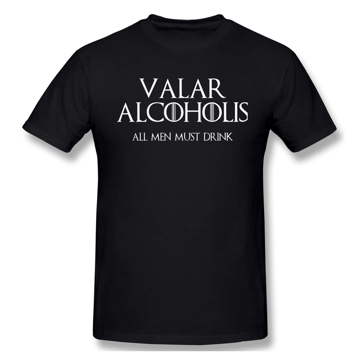Gallagher Valar Morgulis All Must Die Casual T Shirt Short Sleeve Tee For