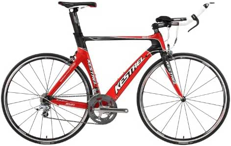 2010 Kestrel Talon Tri-Shimano 105 60CM Bike 19024060 Red/White Bike