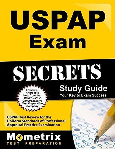 USPAP Exam Secrets Study Guide: USPAP Test Review for the Uniform Standards of Professional Appraisal Practice Examination by USPAP Exam Secrets Test Prep Team (2013-02-14)