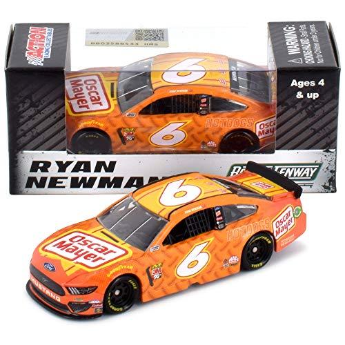 Lionel Racing Ryan Newman 2019 Oscar Meyer Ford Mustang NASCAR Diecast Car 1:64 Scale (64 Diecast 24 1 Nascar)