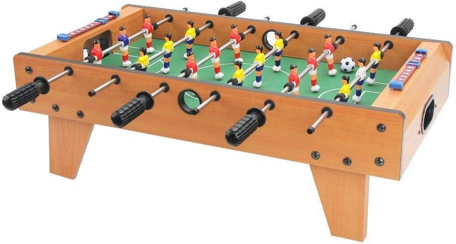 Huang Guan - Mesa de futbolín de 27 Pulgadas con Patas, Mesa de Juego de Mesa de fútbol, para Principiantes a Jugadores intermedios, diseño Elegante y contemporáneo: Amazon.es: Deportes y aire libre
