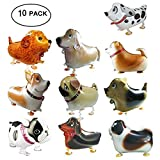 Walking Animal Balloons Pet Dog Balloons,Vinmax 10PCS Puppy Dogs Birthday Party Supplies Animal Theme Balloons Toys Baby Puppy Air Walkers Gift Party Decorations