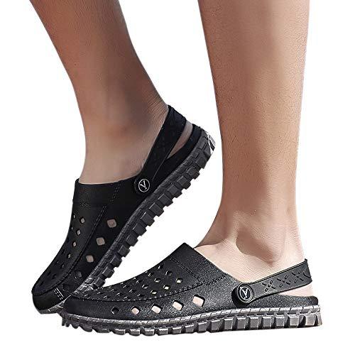 - Oliviavan Men Wading Shoes Outdoor Hole Shoes Men Beach Sandal Casual Walk Beach Shoes