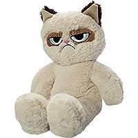 Rosewood Grumpy Cat Floppy Plush Dog Toy