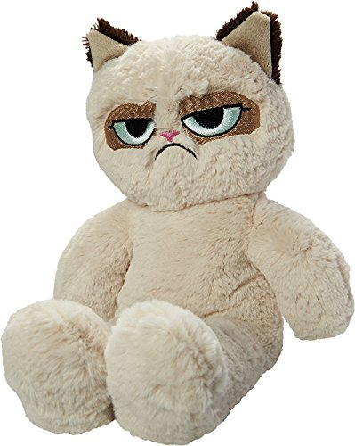 Grumpy Cat Floppy Plush Cat Dog Toy
