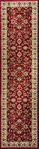 Well Woven Barclay Sarouk Red Traditional Area Rug 2'3