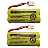 Replacement Battery BT183342 / BT283342 for Vtech AT&T Cordless Telephones CS6114 CS6419 CS6719 EL52300 CL80111 (2-Pack)