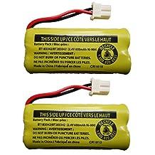 Replacement Battery BT183342 / BT283342 for Vtech AT&T Cordless Telephones CS6114 CS6419 CS6719 EL52300 CL80111 (2-Pack)