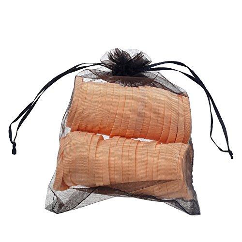 Review Anleolife Makeup Sponge Facial Powder Puff Cosmetics Blush Applicators Round Sponges Foundation 6bags,36pcs(6pcs/bag)