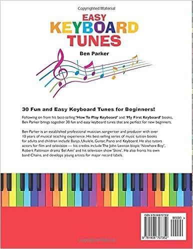 Easy Keyboard Tunes: 30 Fun and Easy Keyboard Tunes for Beginners ...