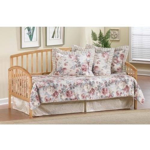 Carolina Wood Daybed w Suspension Deck with Trundle (Carolina Daybed)