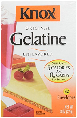 Knox Gelatin, Unflavored, 32 Count, Net Wt 8-Ounce