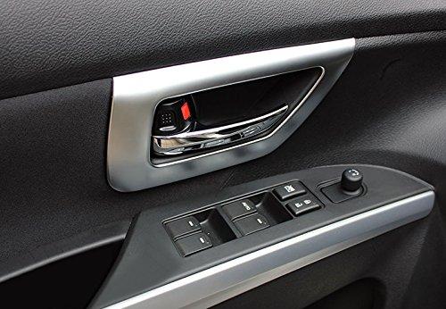 f/ür S-Cross S Cross 2015-2019 Interieur T/ürgriff Dekor ABS Kunststoff Matt 4 St/ück