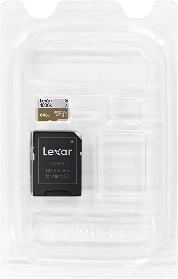Lexar Professional 1000x Microsdxc Uhs Ii Karten 64gb Computer Zubehör