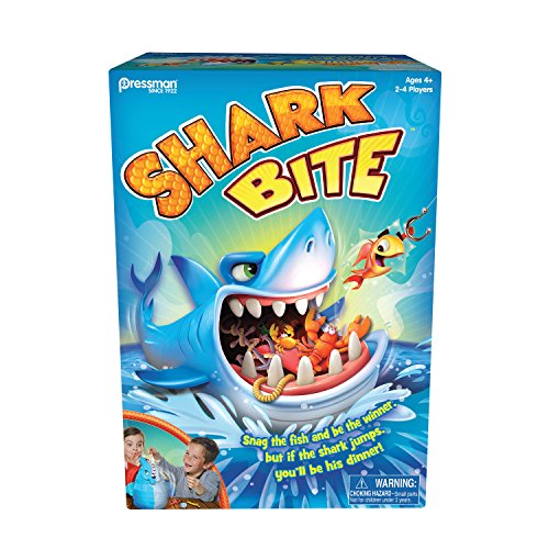(Pressman Toys Shark Bite Game (2-4 Players))