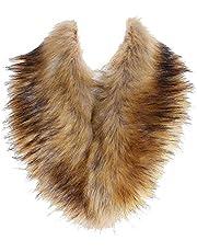 Soul Young Faux Fur Collar Women's Neck Warmer Scarf Wrap