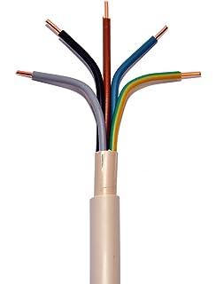 NYY-J Erdungskabel Erdkabel 3x4 mm² Meterware NEU Installationskabel