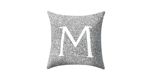 Amazon.com: Yattafasion - Funda de almohada con diseño de ...