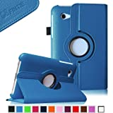 Fintie (Blue) 360 Degrees Rotating Stand Case Cover for Samsung Galaxy Tab 2 7.0 inch Tablet — Multiple Color Options, Best Gadgets
